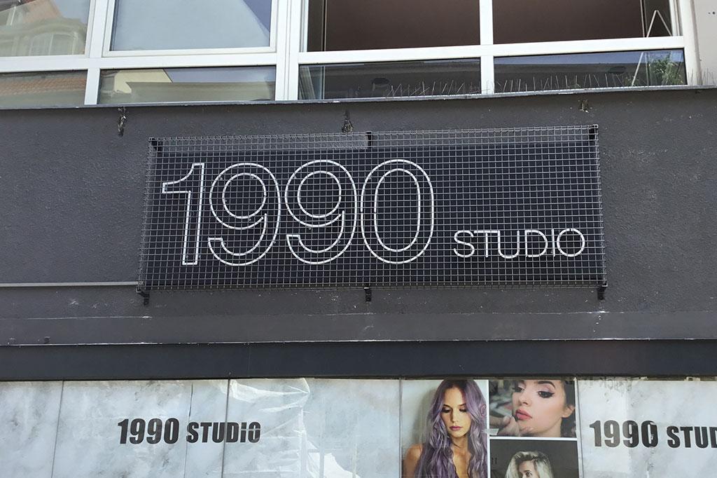 Altay Werbung Aussenwerbung Neon 1990 Studio