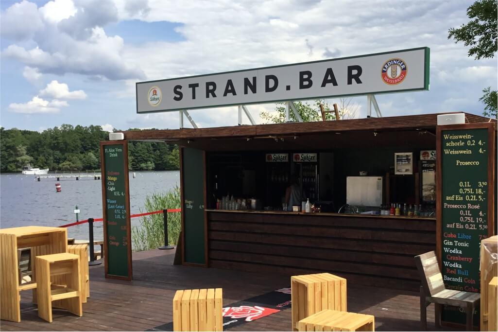 Altay Werbung_LED-Leuchtkasten_Scheibe_Dachkonstruktion_Strandbad Grünau