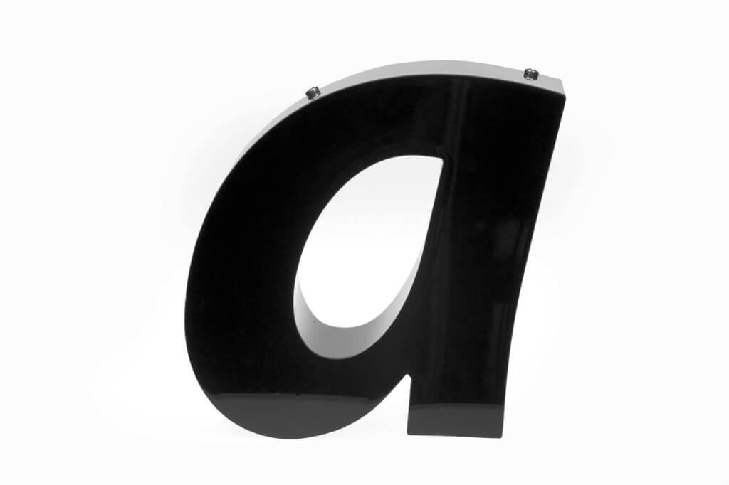 Altay Werbung_LED-Leuchtbuchstaben_Profil 03_unbeleuchtet