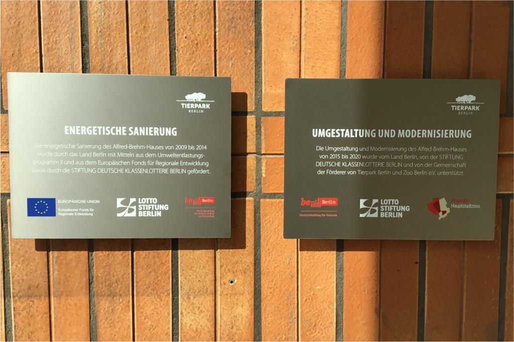 Altay Werbung_Schilder_Edelstahl_Tierpark
